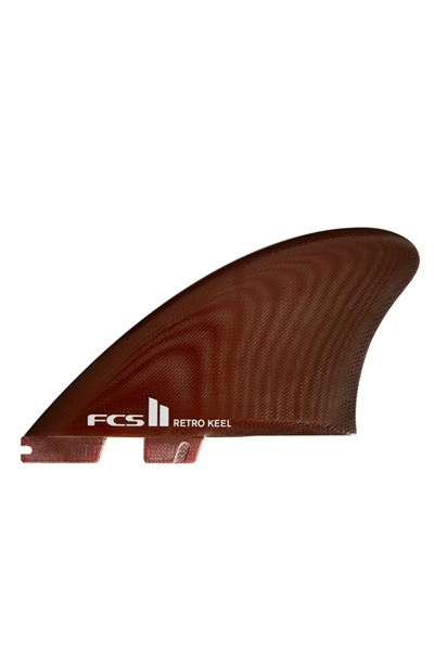 [트윈핀]FCS II RETRO KEEL TWIN FINS RED 레트로핀 레드